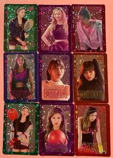 Twice yes card 閃咭 set A