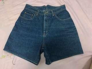 High waist short jeans #MMAR18