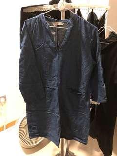 🚚 Zara Denim Dress