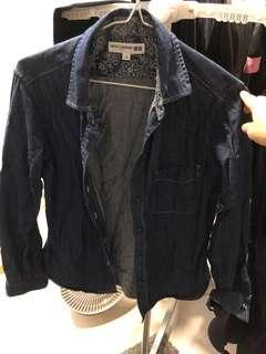 🚚 Uniqlo ines de la fressange denim shirt