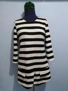 Stripes Long Top/Mini Dress