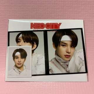 NCT Jungwoo Film + Photo Set
