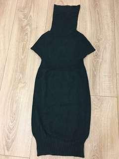 🚚 針織洋裝👗(綠色)