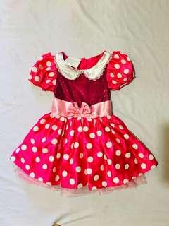 Minnie mouse gown costume