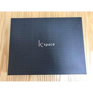 🚚 k'SPACE湖水藍絲巾