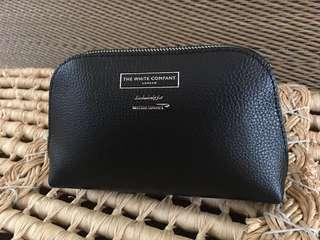 Ready stock: The White House Company London exclusively for British Airways pebbled PU leather Pouch