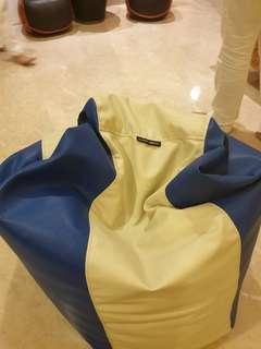 Bean bag - Branded Leather