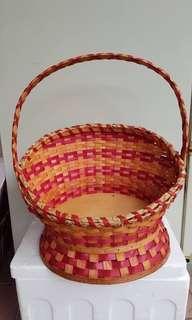 Rattan Basket used hamper basket #mmar18