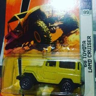 Dijual diecast Matchbox (Rare) '68 Toyota Land Cruiser new old stock