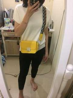 Zara Yellow Slingbag