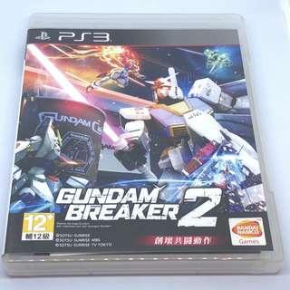 PS3 Game Gundam Breaker 2