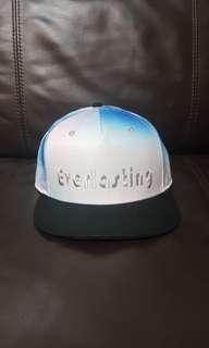 🚚 Miniso Pastel Pink & Blue 'Everlasting' Baseball Cap