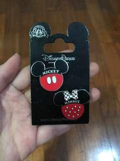 HK Disneyland Mickey Minnie Pins