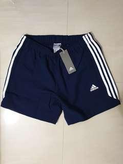 NEW Authentic Adidas Men's ESS Chelsea Shorts Navy L