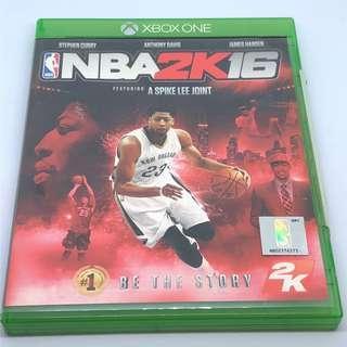Xbox One NBA 2K16 2016
