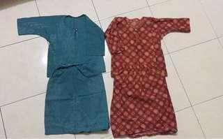 Baju Kurung Cotton 1tahun