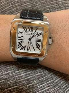 Cartier Santos 100 XL Two Tone