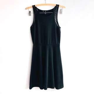 [BN] H&M Black Skater Dress #MMAR18