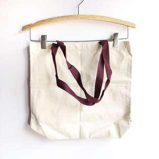 [BN] Plain Canvas Tote Bag #MMAR18