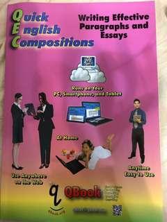 🚚 Quick English Compositions (英文寫作課本)