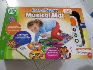 Leapfrog Learn & Groove Musical Mat Play gym Playmat