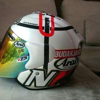 Arai ram 4 Haga Monza Helmet