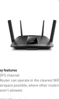 Linksys EA8100-AH MAX-STREAMTMAC2600 wireless router