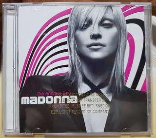 Madonna - Die Another Day US 6 Tracks Gold Stamped Promo CD