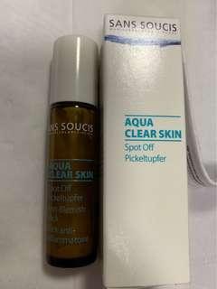SansSoucis Aque clean skin 暗瘡水