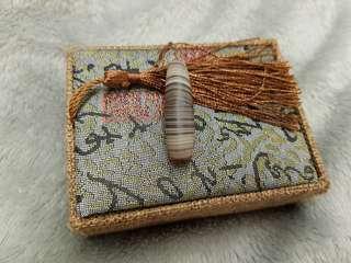 Eye agate bead (41*11mm)