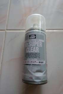 Mr Hobby Semi Gloss Top Coat