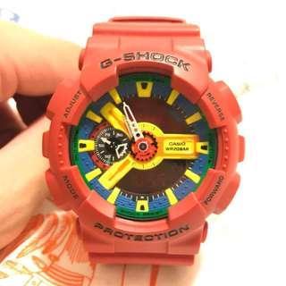 二手錶 / G-SHOCK 紅樂高