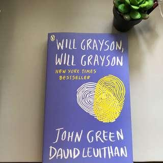 [WTS] Will Grayson, Will Grayson Book