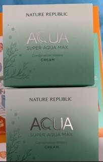 Naturn Republic  Aqua 保濕面霜 $80一盒