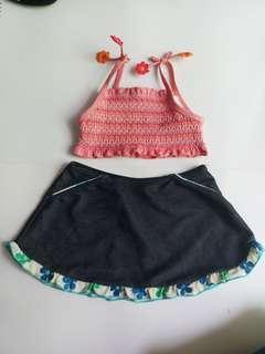 Girls Kid swimsuit #prelovedwithlove