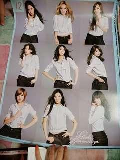 Girls Generation, Miss A, 2ne1 Poster 5's