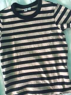 Striped tee/tshirt/top