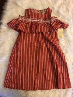 Original NWT Lucky Brand Girls Dress 6T