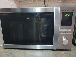 🚚 Sharp Microwave, Convection, Grill