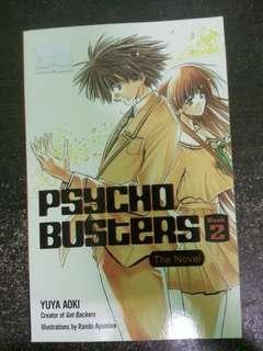 PSYCHO BUSTERS BOOK 2 by Yuya Aoki