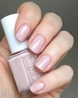 包平郵 美國 Essie Nail Polish指甲油 nude粉色 topless & barefoot
