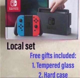 Nintendo Switch Console Local neon/grey