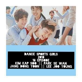 Dance sports girls