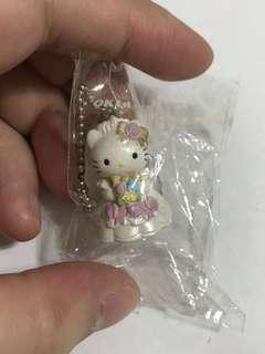 Hello Kitty 扭蛋 吊飾 結婚 婚紗