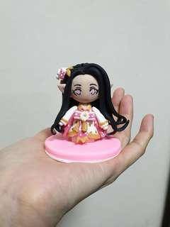 Customise chibi figurine made of polymer clay