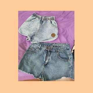 🚚 2 FOR $5 : DENIM SHORTS