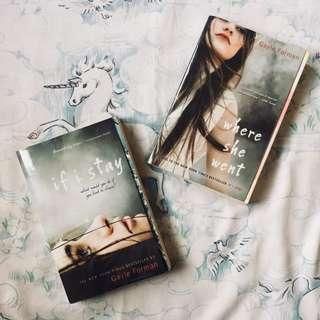 If I Stay Trilogy by Gayle Forman