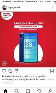 Samsung M20 Promo 0%