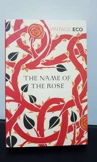 The name of the rose by Umberto Eco book
