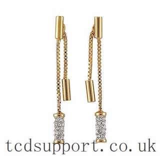 BUCKLEY LONDON GOLD DIAMOND EARRINGS